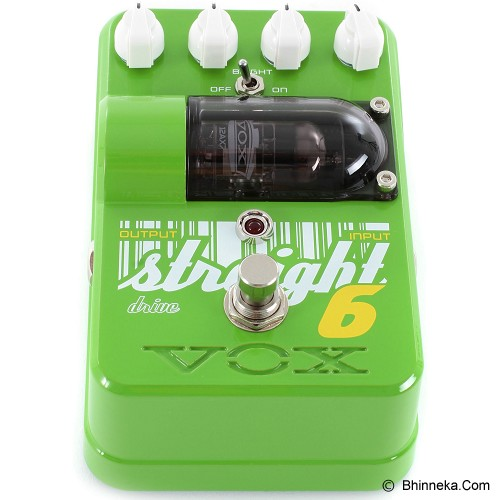 VOX Tone Garage Straight 6 Overdrive [TG1ST60D] - Gitar Stompbox Effect